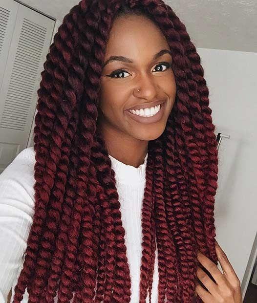 31 Stunning Crochet Twist Hairstyles - 31 Stunning Crochet Twist Hairstyles Beauty, Twist Hairstyles