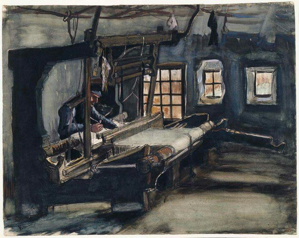 Arte De Tecer Van Gogh Weaver Ja Ago16 Arte Van Gogh Capela Sistina Pintor