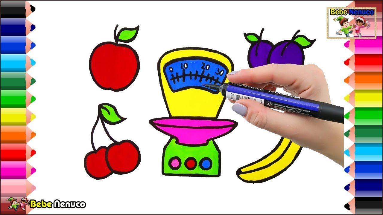 Balanzas De Cocina De Juguete Para Bebés Y Frutas Para
