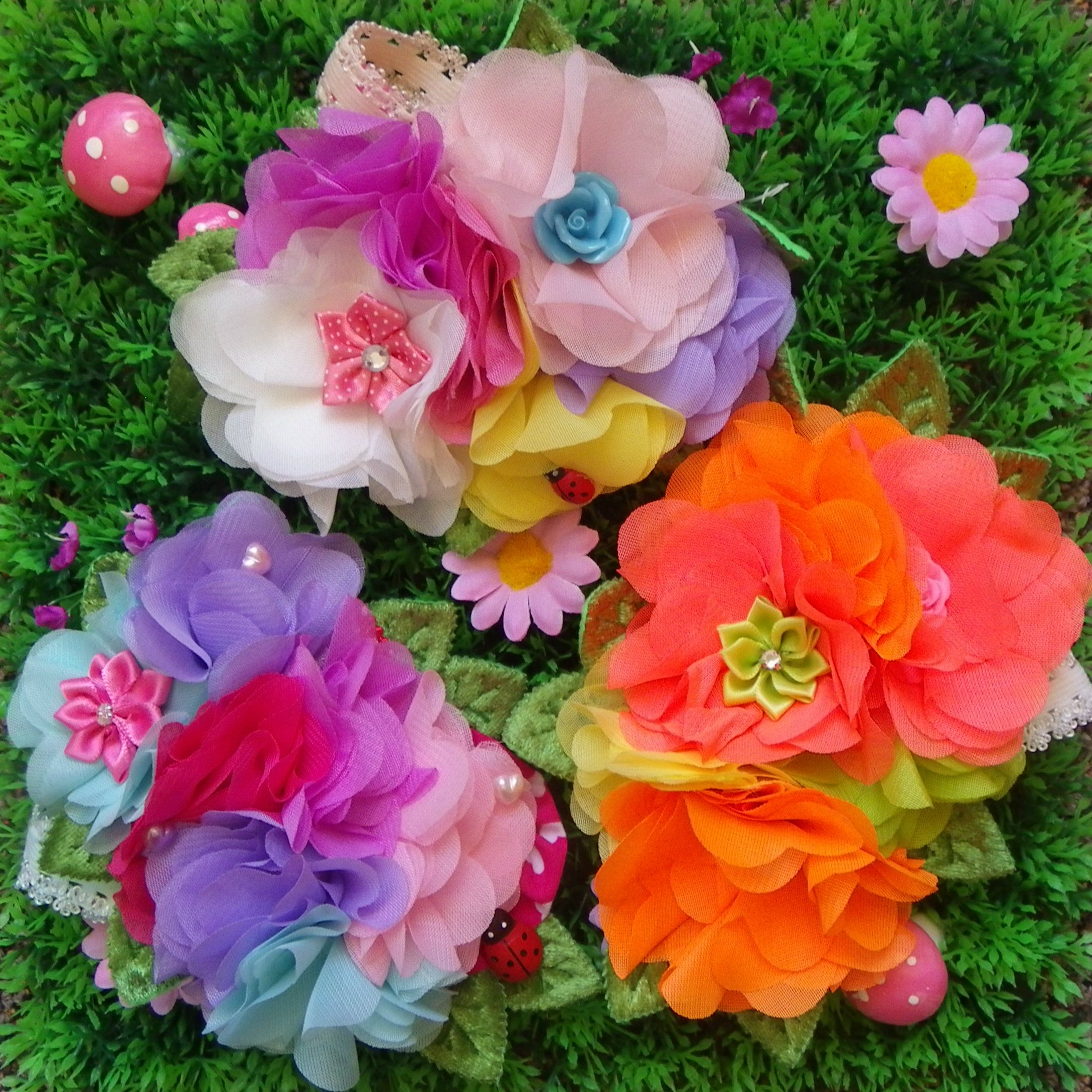 Neon Pastel Rainbow And Springtime Flower Crowns Www Facebook Com