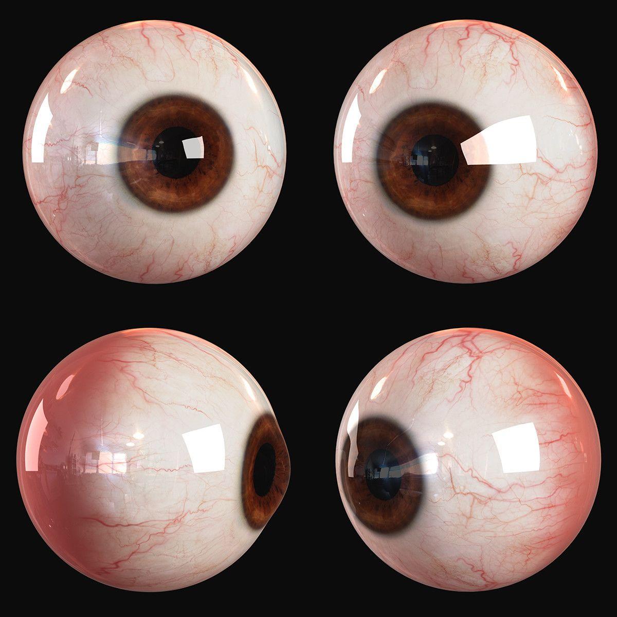 Human Eye Andor Kollar On Artstation At S