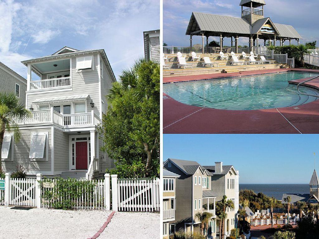 coast cottages vacation rental vrbo 340474 4 br st simons rh pinterest com coastal cottages st simons ga coastal cottages st simons for sale