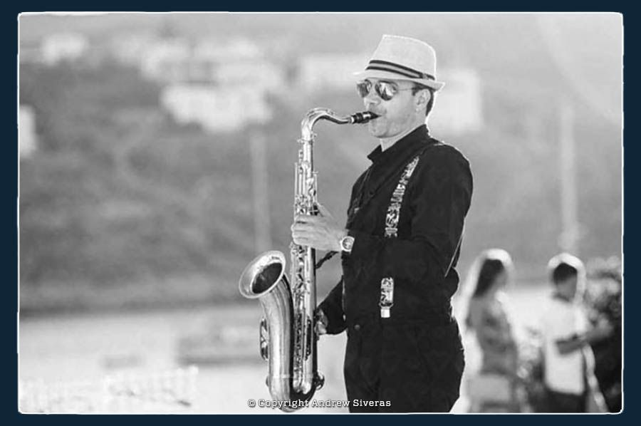 Andrew Siveras | Saxophonist for Weddings in Greece