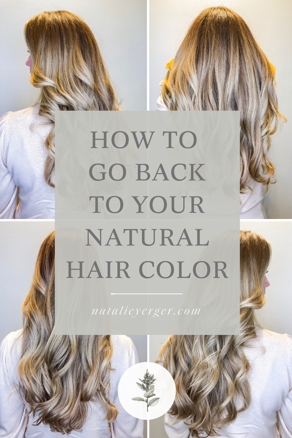 How To Go Back To Your Natural Hair Color Natural Hair Color Natural Hair Styles Healthy Blonde Hair