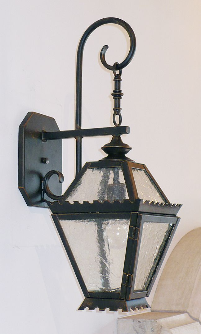 Unique Iron Lighting Fabricates Contemporary Exterior Lanterns And Other Fixtures For A Wide Array Of Architectural Uses