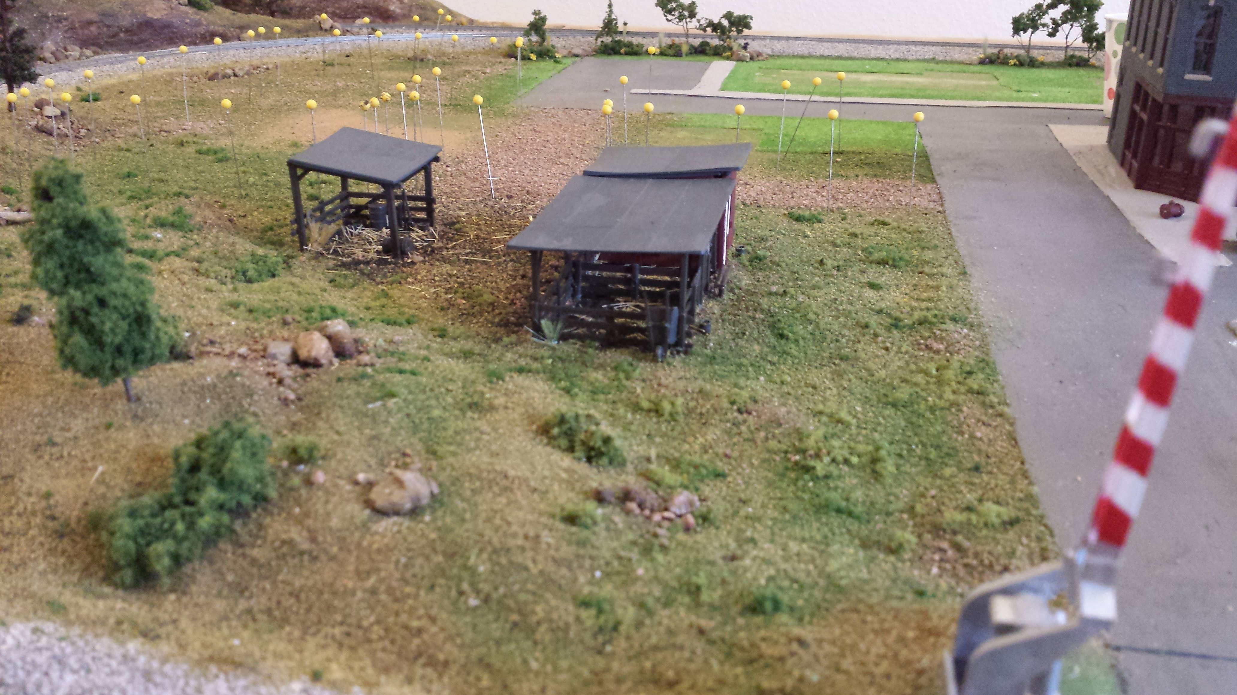 whittemore ho scale train table farm layout install buildings