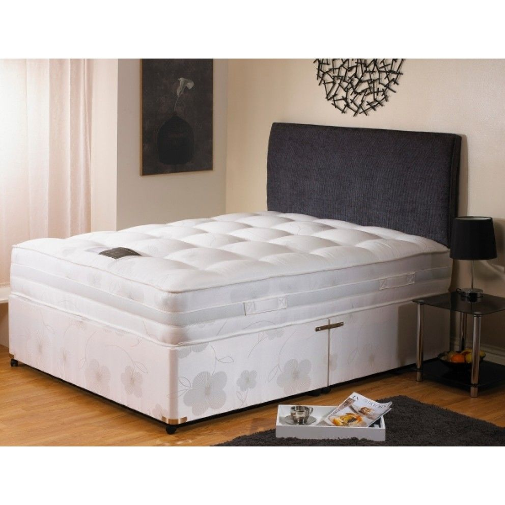 Dura Beds Mattress Dura Beds Supreme 1600 Pocket Divan Set Free Delivery Divan