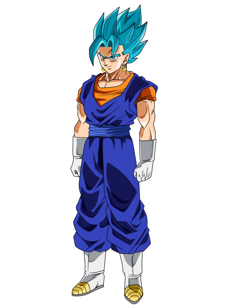 Vegetto Is A Character From The Manga Anime Dragonball Z He Is A Fusion Of Goku And Vegeta Using Dragon Ball Super Manga Dragon Ball Art Dragon Ball Artwork