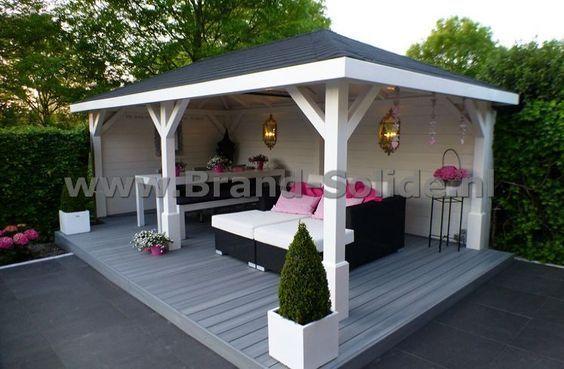 Photo of garten sitzecke #garden #garten Pavillon Milos 350 x 590 (), #gartenhaus #milos …