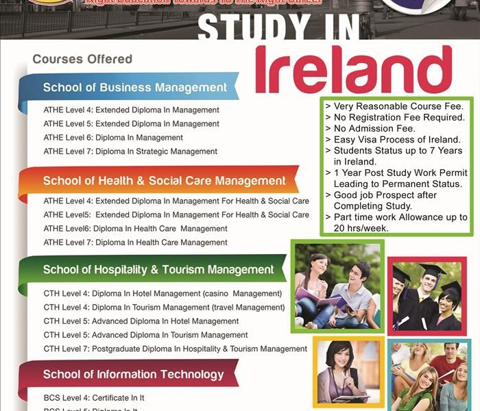 Scholarships In Ireland For Pakistani Students Limited Scholarships No Registration Fee No Admission Fee Easy Visa Proce Scholarships Student Study