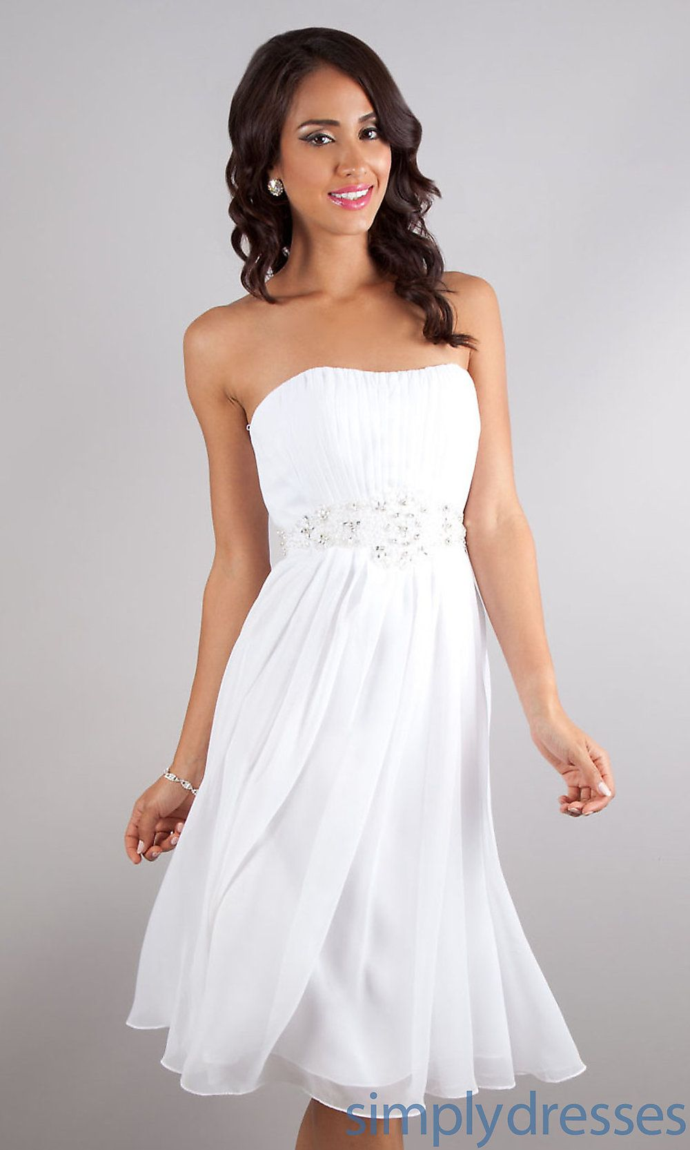 View Dress Detail Dq 8569w White Homecoming Dresses Short Bridesmaid Dresses Cheap Bridesmaid Dresses [ 1666 x 1000 Pixel ]