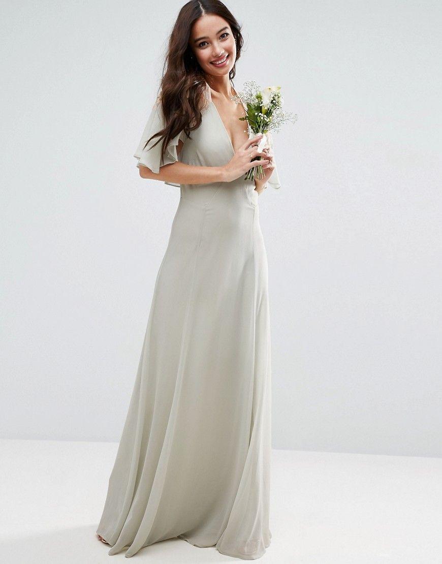 Design bridesmaid lace applique cape maxi dress products