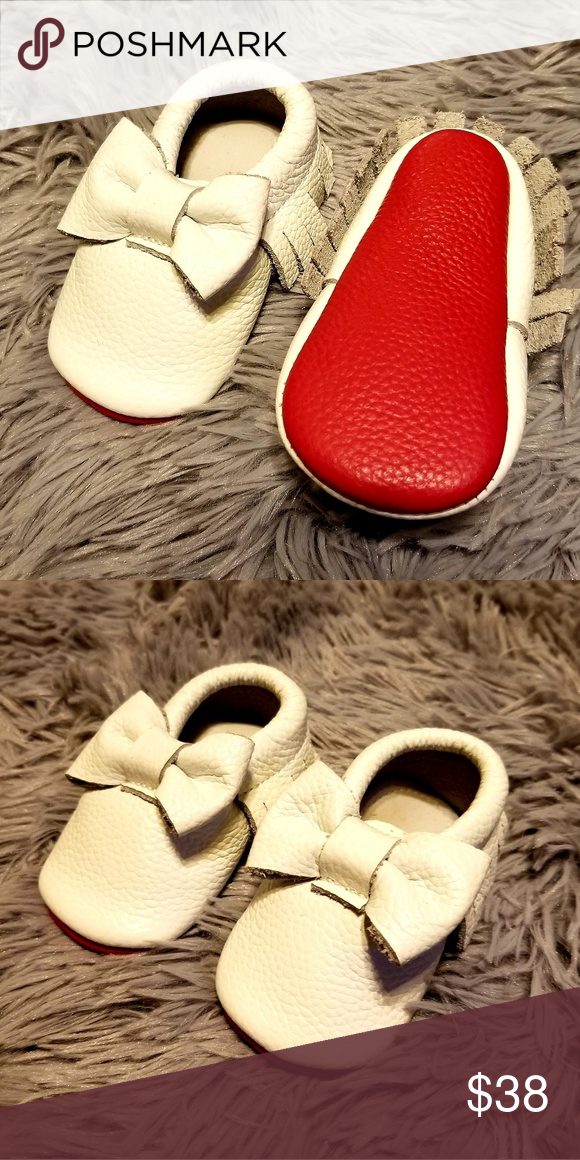 infant red bottoms