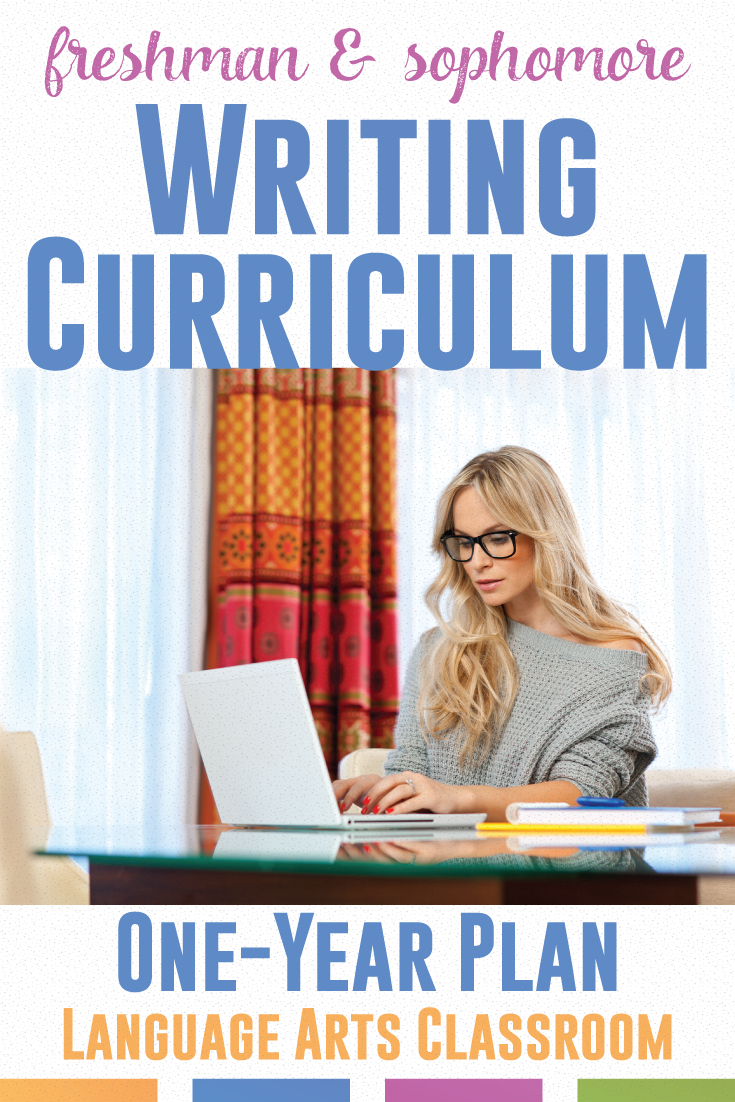 Writing Curriculum For High School Ela Writing Resources 6 12