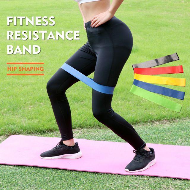 Yoga Widerstand Gummi Bands Workout Fitness Gum Gummi
