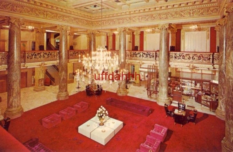 Lobby of hotel utah 1960s hotel gift shop utah