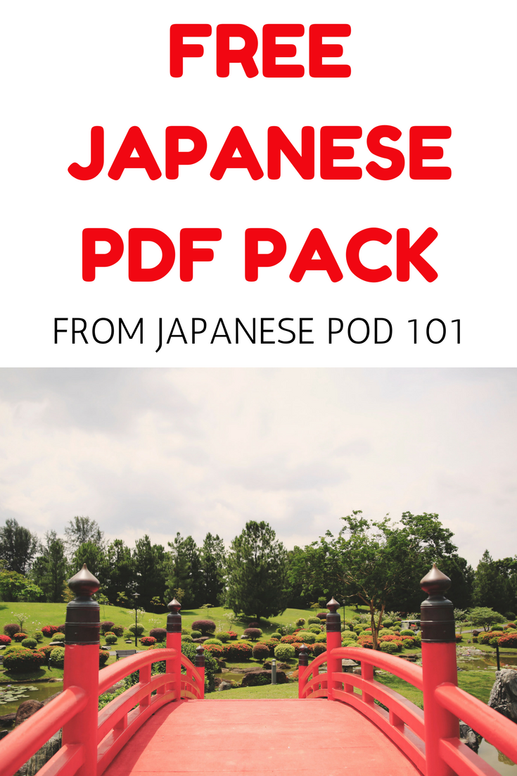 Japanese Vocabulary Pdf