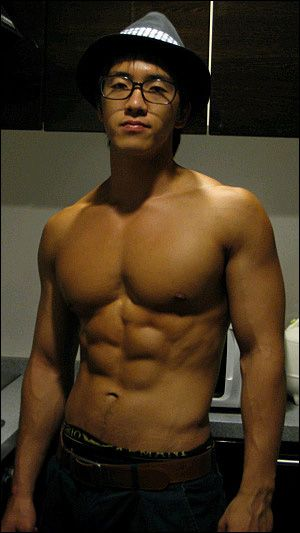 Shirtless Asian Male 27