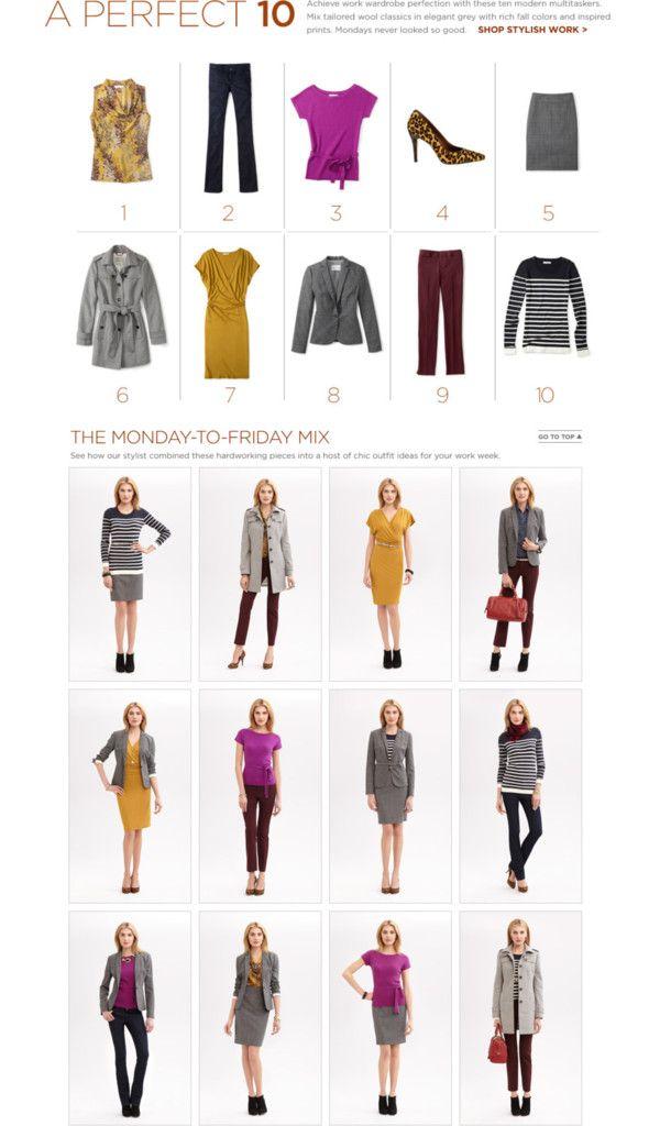 f8408d2f2001 10 Piece Wardrobe Mixer | Ropita | Ropa, Publicaciones de atuendos y ...