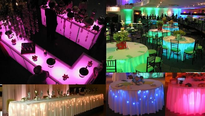 Under Table Lights Party Decoration