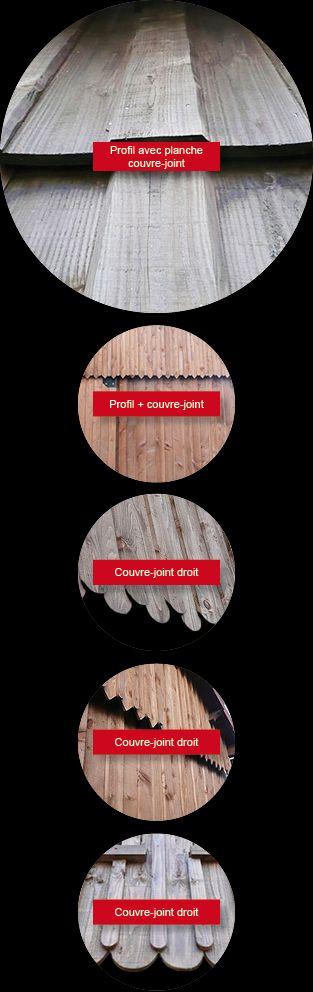 bardages bois vertical pour pose avec couvre joint en m l ze de sib rie pic a ou pin du nord. Black Bedroom Furniture Sets. Home Design Ideas