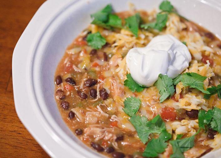 chicken tortilla soup  make it  trust me   Yummy   Chicken