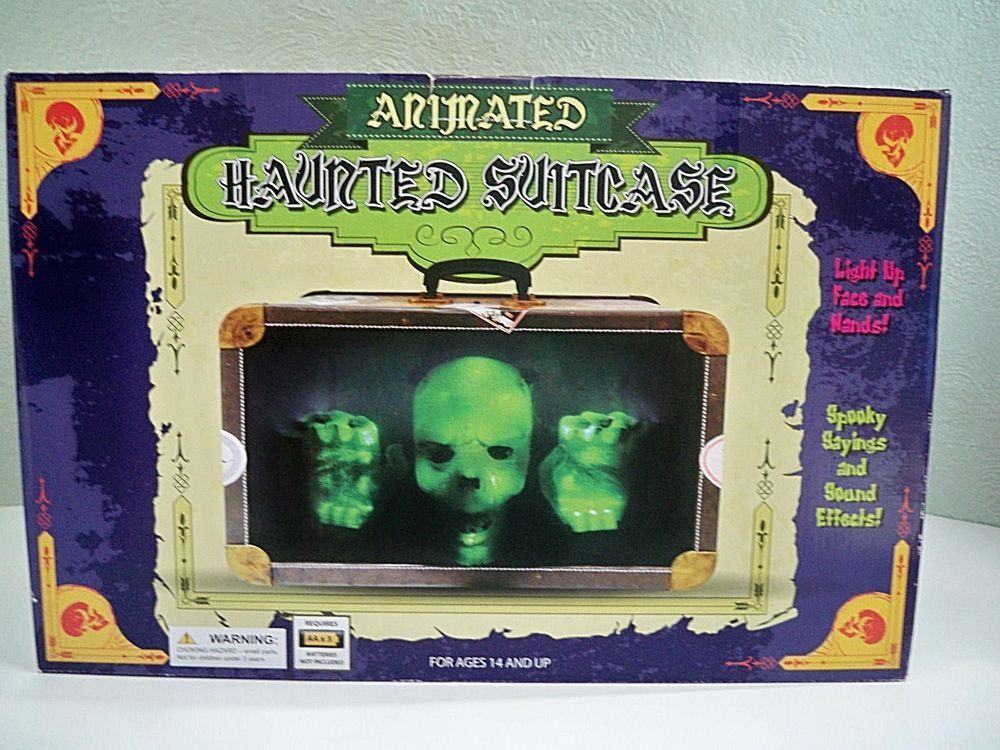 Details about Haunted Vintage Animated Radio Halloween