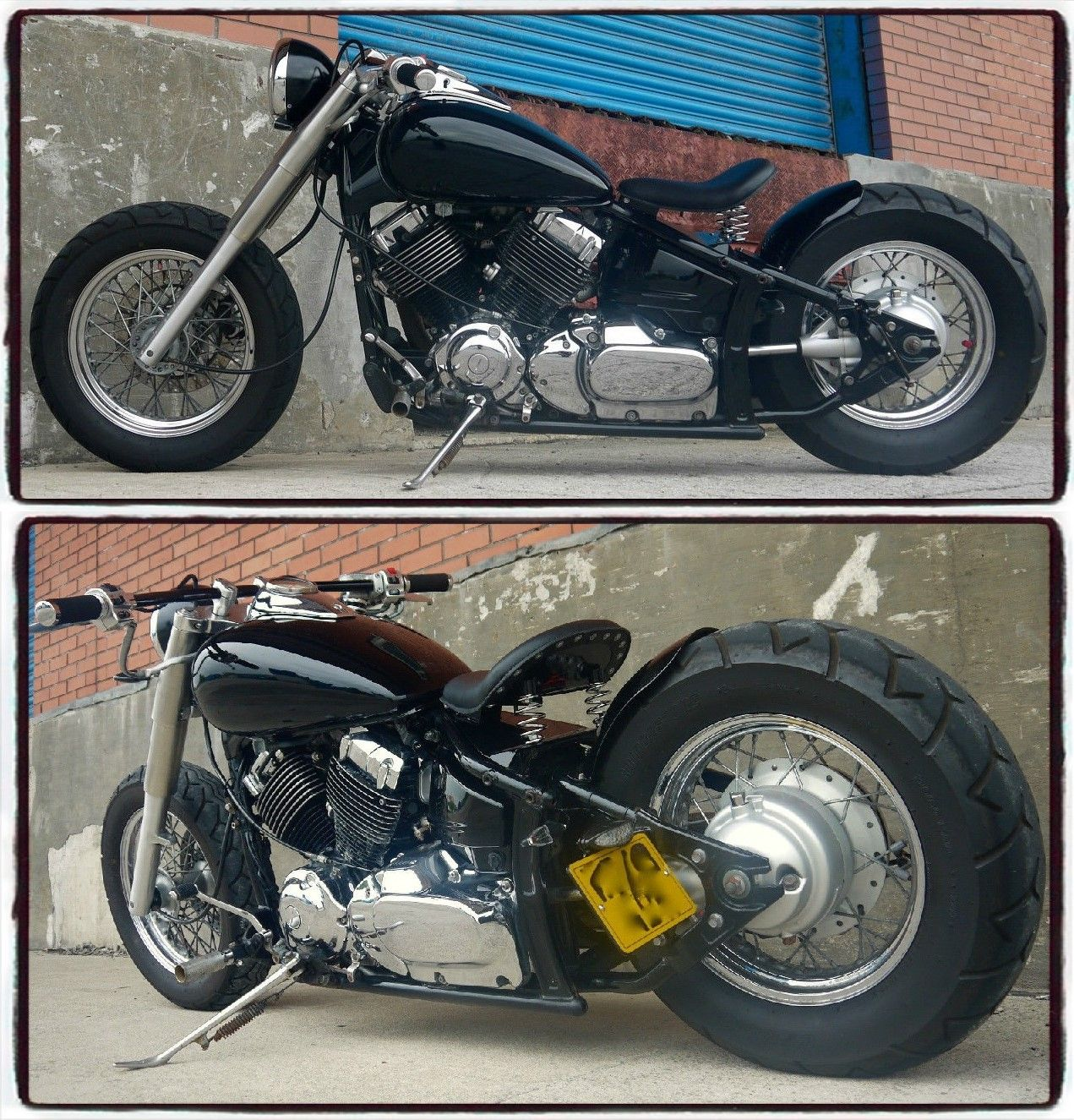 2000 Yamaha XVS650A Black Bobber Dragstar V-Star, currently being auctioned on eBay with a Classified Ad Price of £3,850 (or Best Offer). http://ebay.co.uk/itm/252133958324?clk_rvr_id=916281357301&rmvSB=true