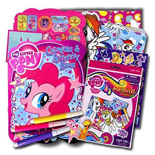 My Little Pony Set de coloriage avec crayons et autocollants
