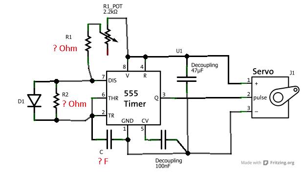 servo tester by 555 timer  u00bb current projects