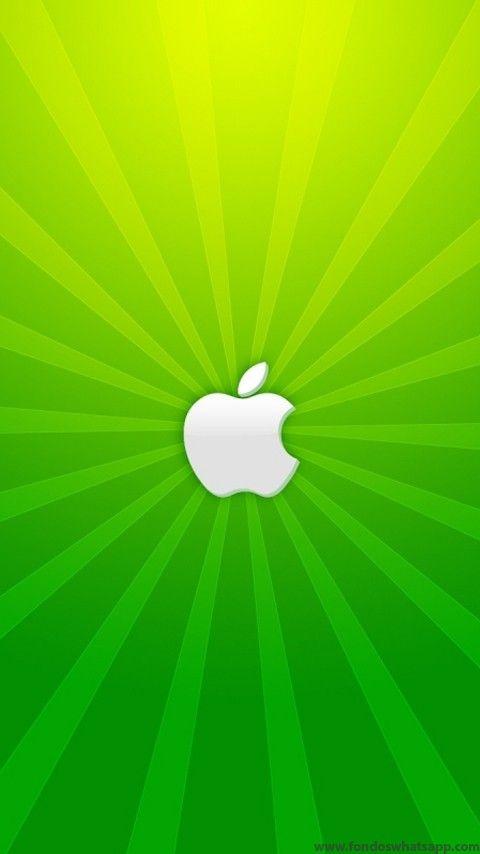 Apple Verde Facebook Iphone Wallpaper Apple Wallpaper Iphone