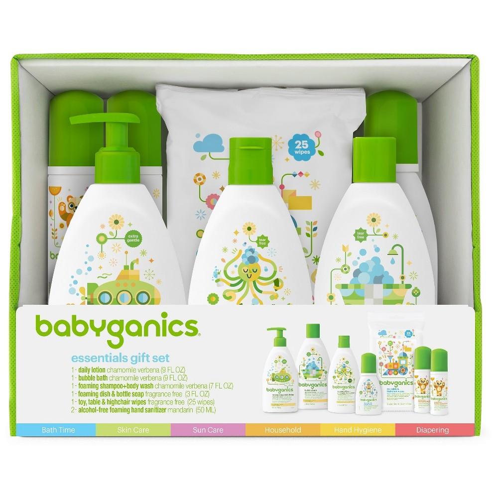 Babyganics Baby Safe World Essentials Kit Baby Bath Gift Baby Safe Gifts