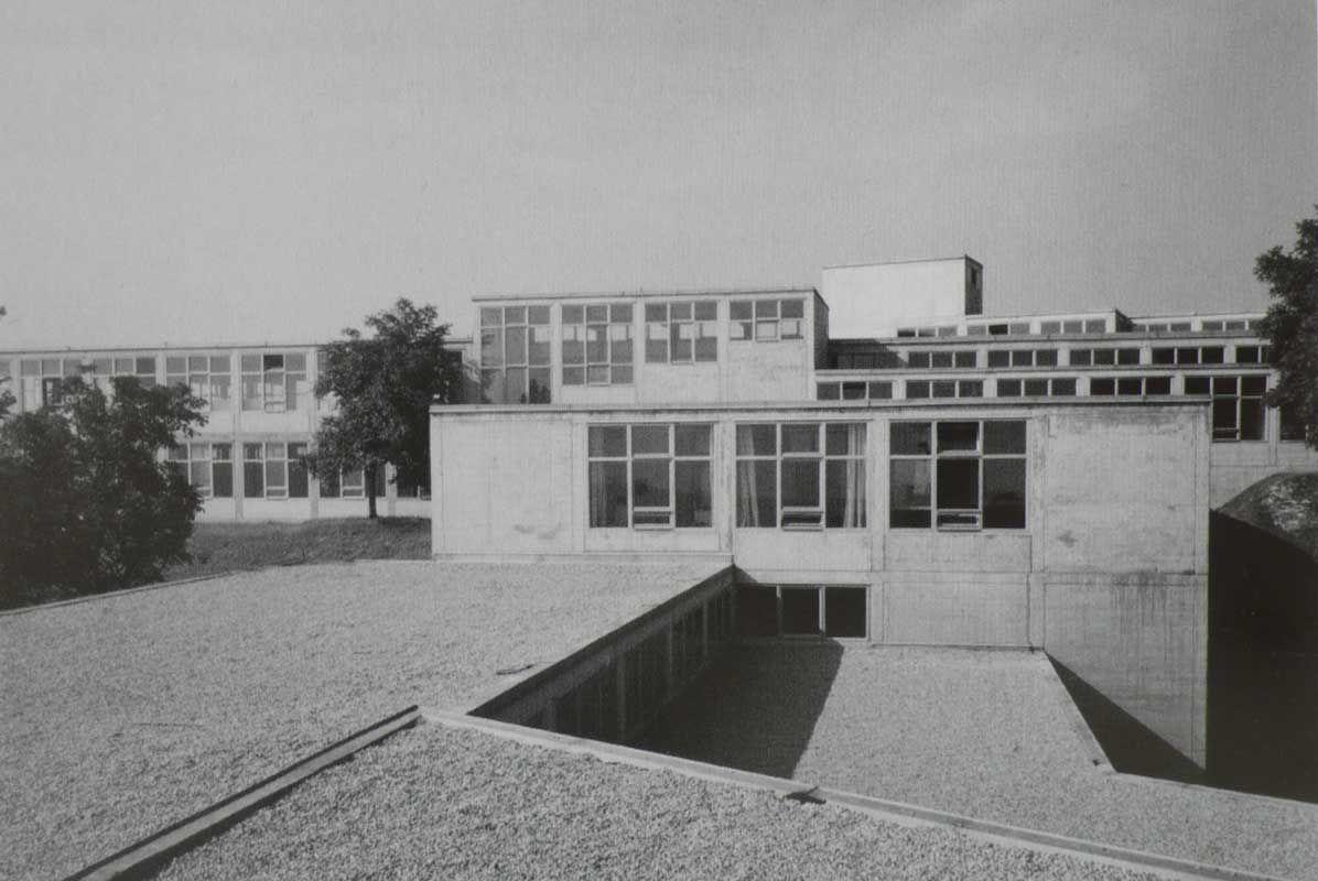De Ulm Hochschule Für Gestaltung Ulm Architect Max Bill 1955 Ulm Bauhaus Max Bill