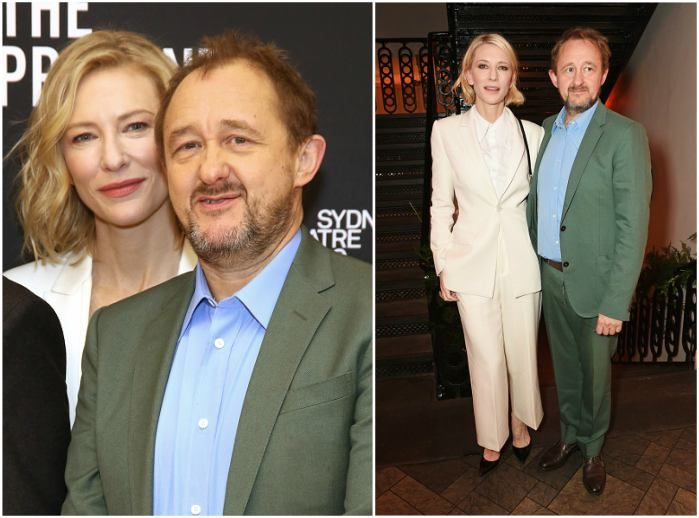 Australian entertainment goddess Cate Blanchett's husband