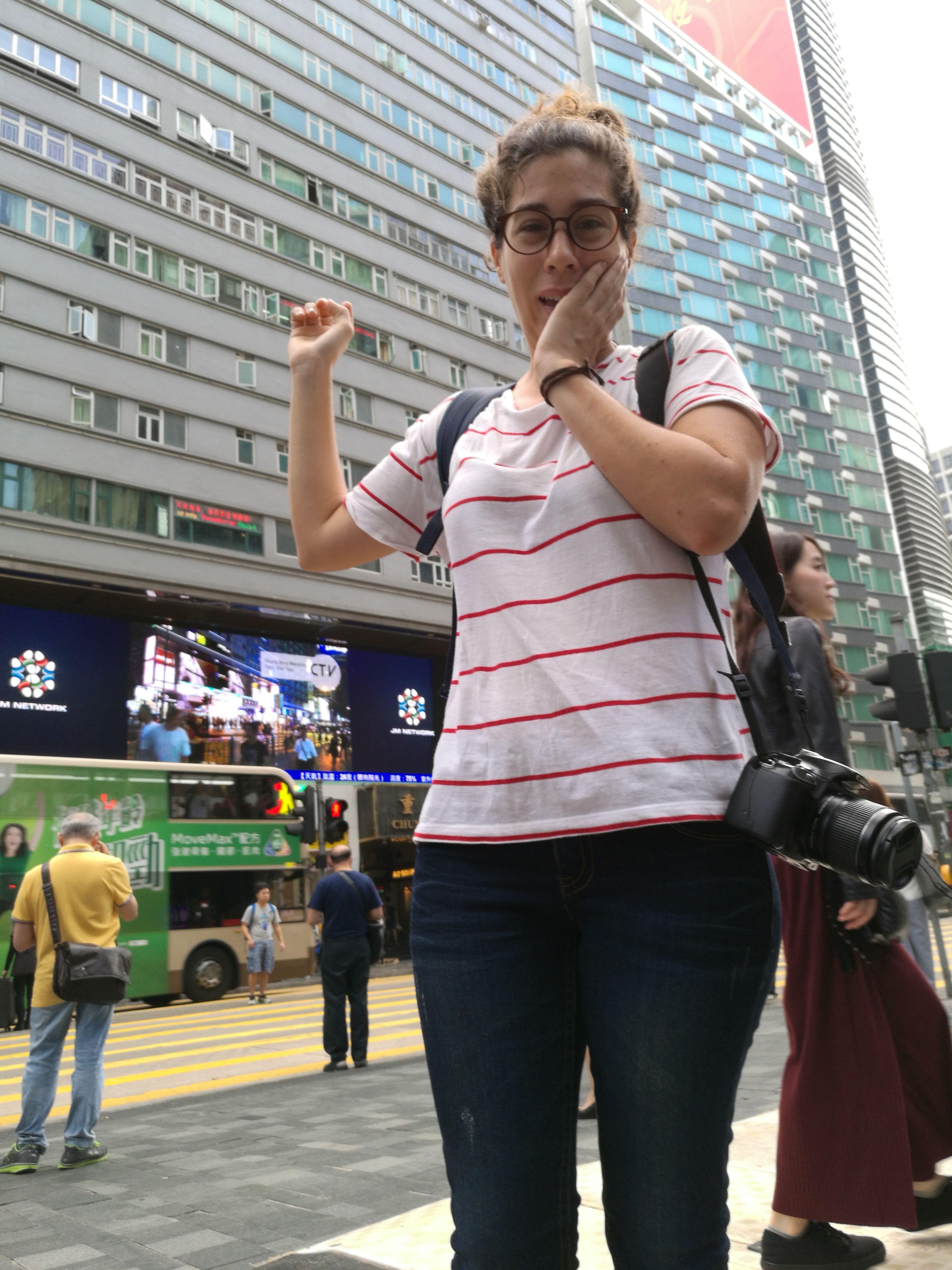 Las Chunking Mansion donde nos alojamos en Hong Kong