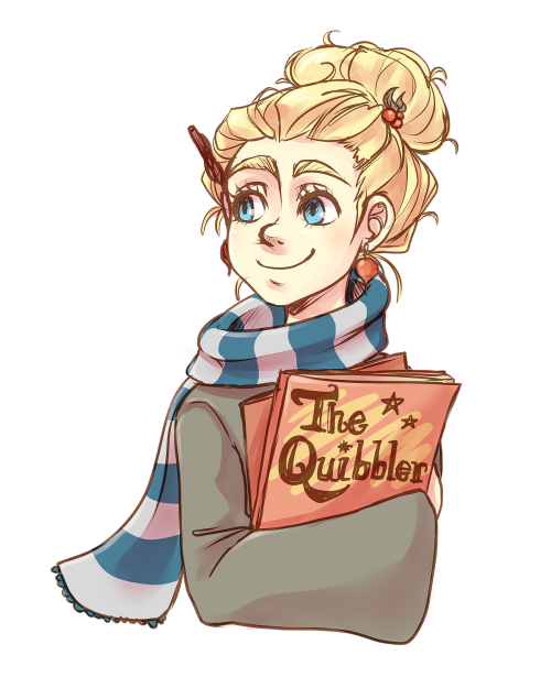 Harry Potter Fanart Luna In 2020 Harry Potter Art Harry Potter Luna Lovegood Harry Potter Drawings