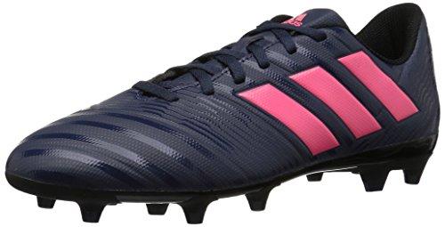 Adidas Women S Nemeziz 17 4 Fg W Soccer Shoe Trace Blue Red Zest