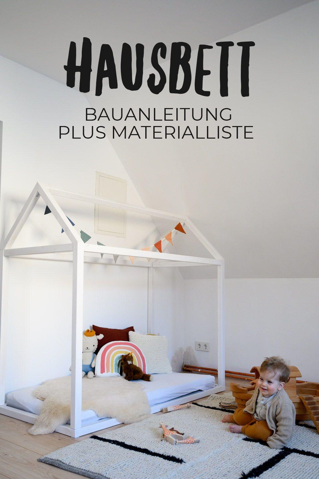 Hausbett Selbst Bauen Diy Hausbett Bodenbetten Und Floorbed