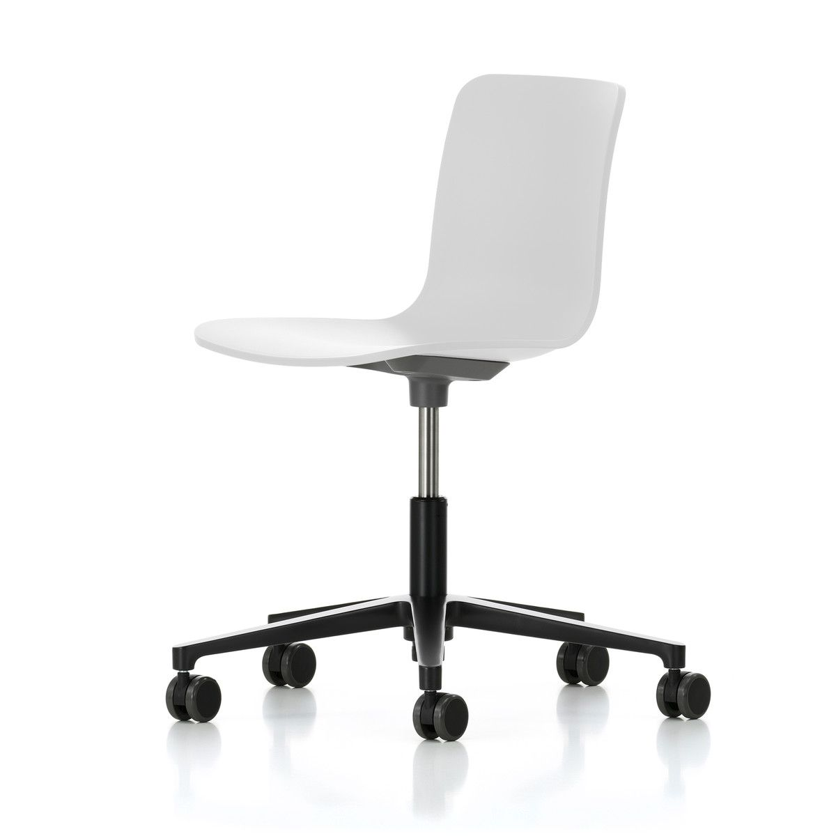 Fauteuil Cuir Vitra Vitra Hal Studio White Basic Dark Buy From Connox On