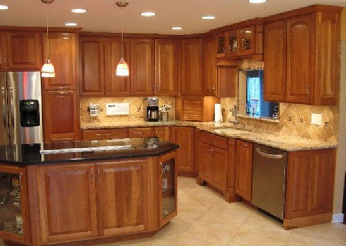 Charmant Kitchen Paint Colors With Cherry Cabinets | ... Post :Choose The Right  Kitchen