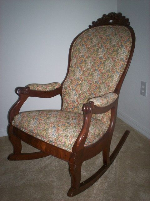 Padded Rocking Chairs Love The Old Rockers Chairs Upholstered Rocking Chairs Rocking Antique Rocking Chairs Rocking Chair Upholstered Rocking Chairs