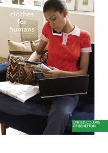 Clothes for humans Benetton campaign