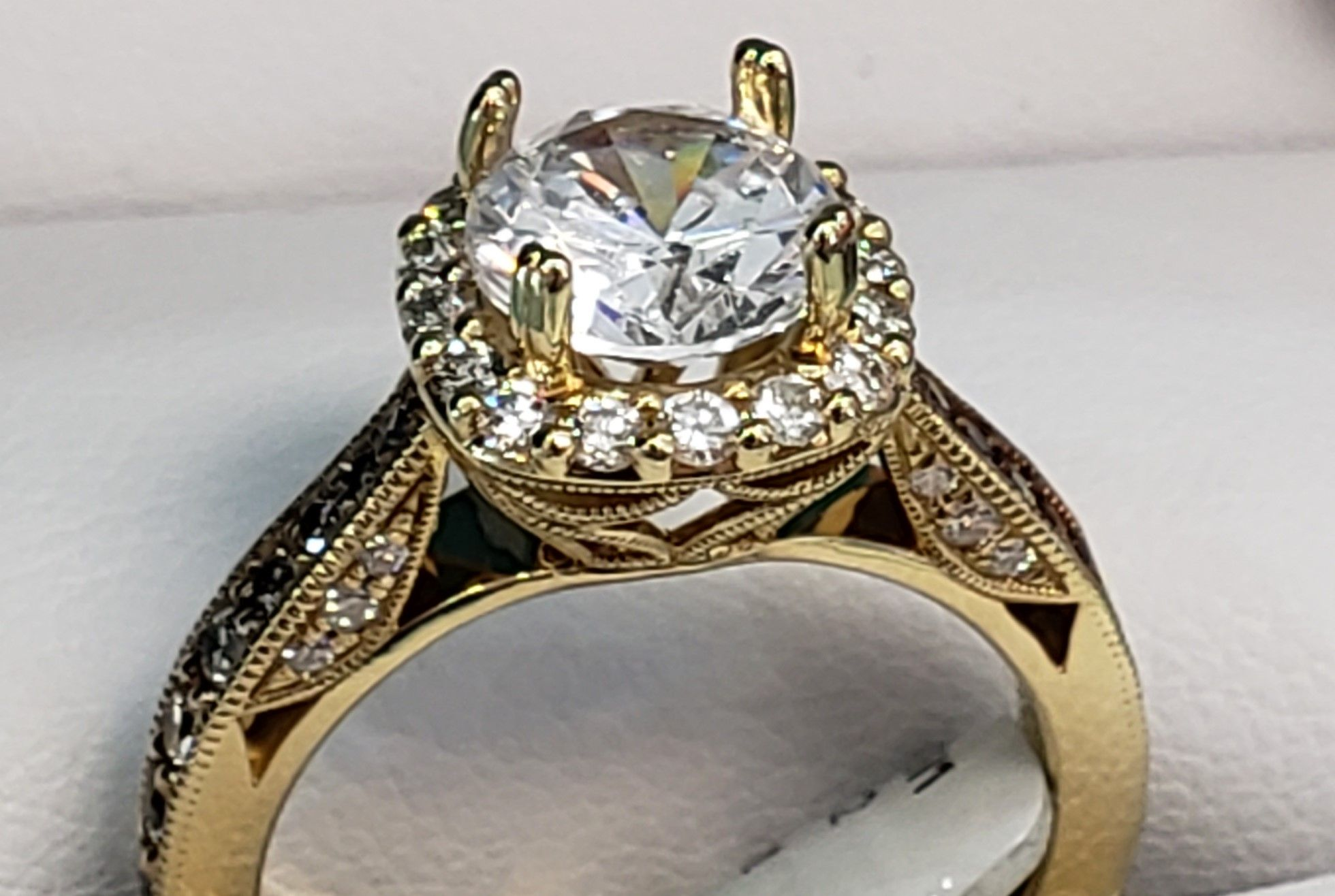 Custom Made By Our Expert Jeweler Jewelry Exchange Jewelry Stores Jewelry Repair