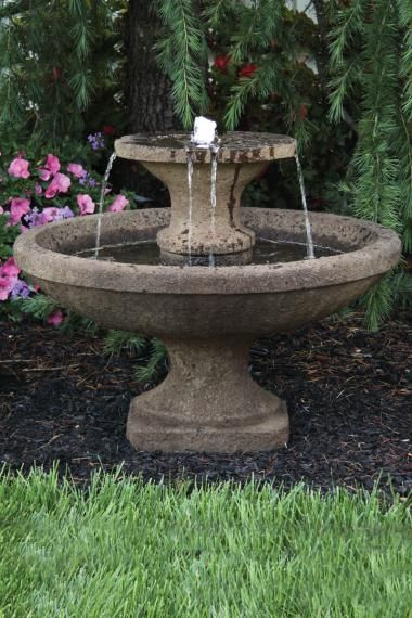 2 Tier Bella Fountain Diy Garden Fountains Garden Fountains Garden Fountain