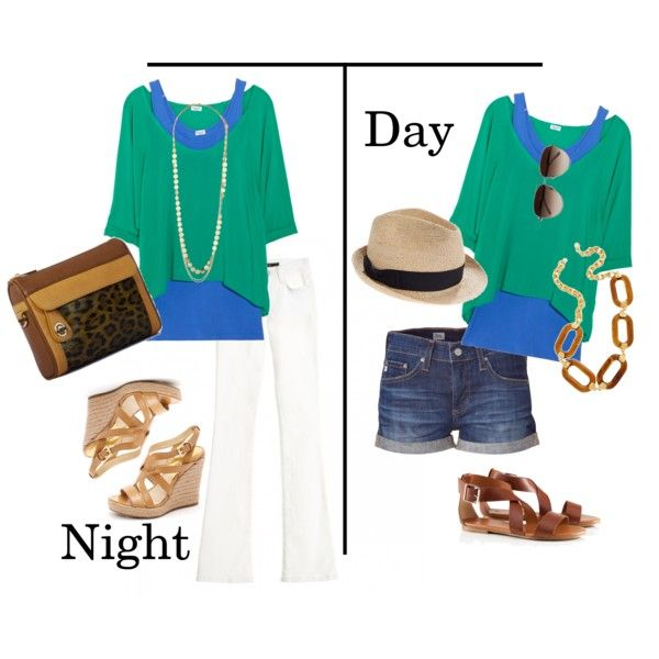 The layered Splendid top can take you from day to night this St. Patrick's Day.