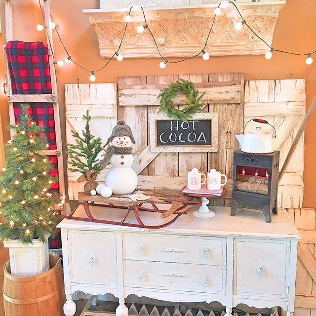 sugar pie farmhouse farmhouse christmas kitchen farmhouse christmas christmas decorations on farmhouse kitchen xmas id=41709