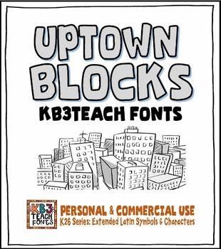 Download FONTS: KB3 BIG BOLD FONTS PACK #1 (6-Font Set: K26 Series ...