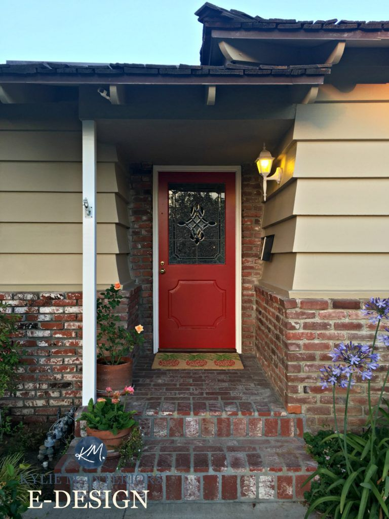 What Are The Best Paint Colours For A Front Door Front