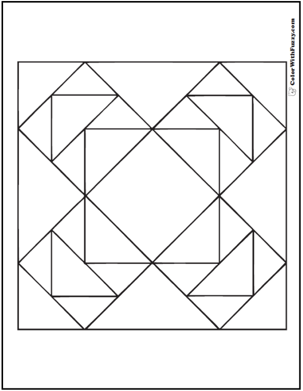 70 Geometric Coloring Pages To Print And Customize Geometric Quilt Coloring Pages Geometric Coloring Pages