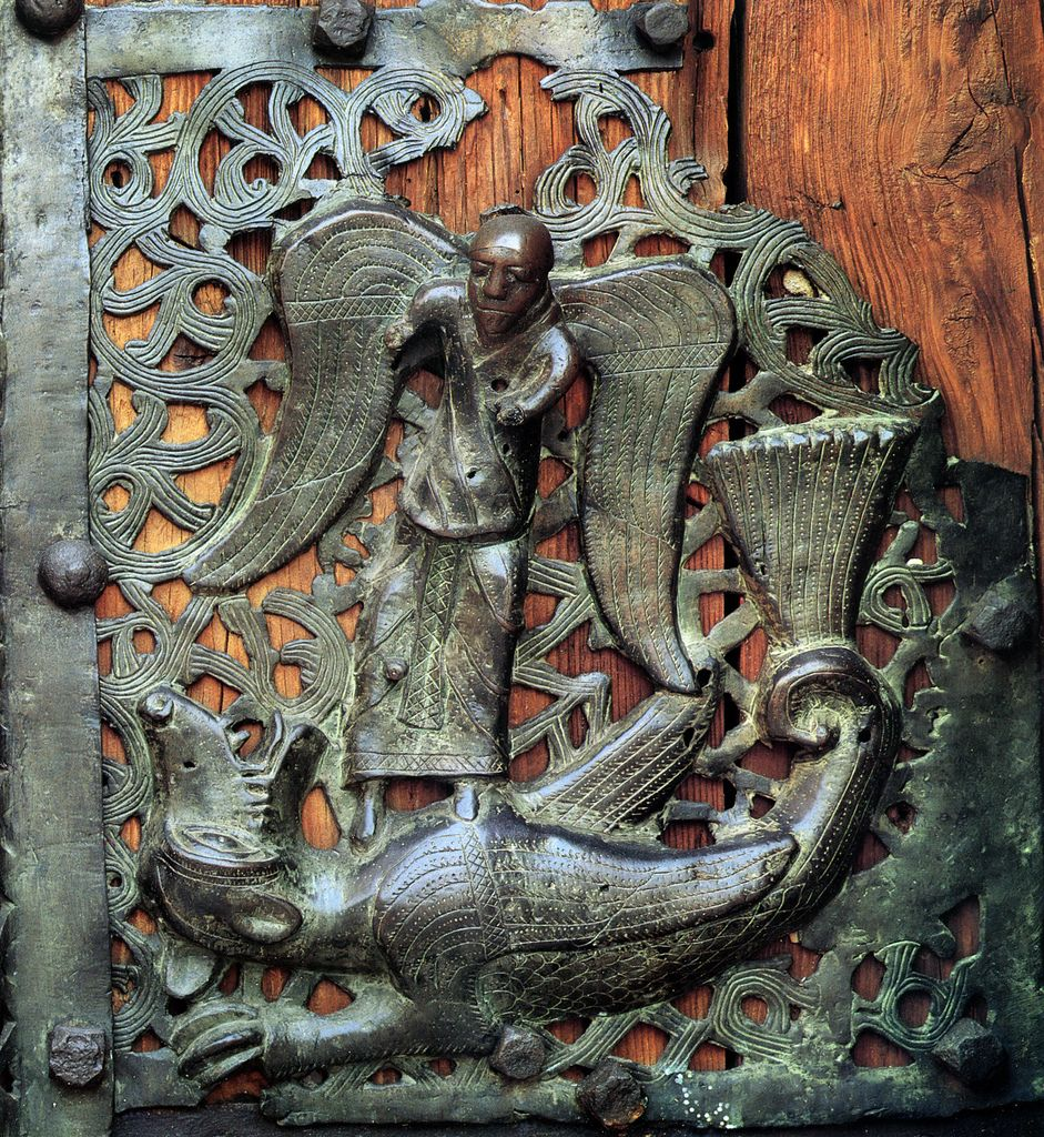 San Zeno, Primo maestro, San Michele arcangelo uccide il drago | Flickr - Photo Sharing!
